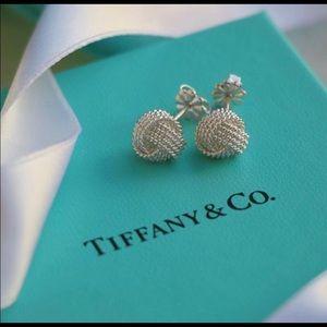 Tiffany&Co. Twist Knot Earrings